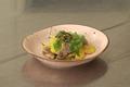 Wok de sauté de canard au jus de pomme et carottes jaunes