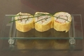 Maki à l'omelette et au saumon fumé