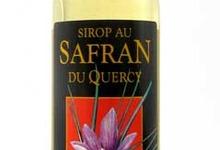 Sirop au safran du Quercy
