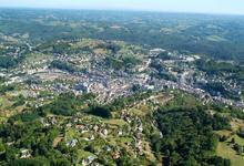 vue aérienne de Tulle