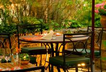 Hôtel de la Cité, restaurant La Barbacane