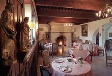 Château De Floure, restaurant Le Poele Disparu