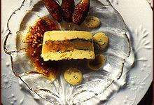Terrine de Poires et Faisselle de Brebis vinaigrette aux figues