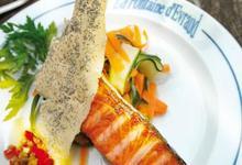 Restaurant  brasserie La Fontaine d'Evraud, Hostellerie La Croix Blanche