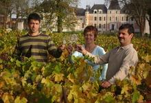 Benoît, Françoise et Bernard Landron, Vignerons