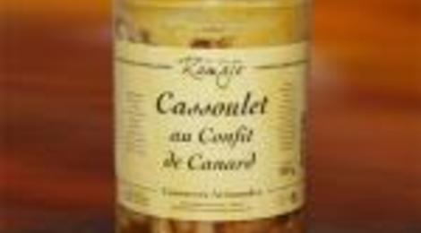 Cassoulet au confit de canard 750 gr