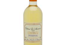 Vin blanc Monbazillac 2008 élevé en fûts de chêne