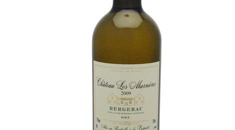 Vin blanc sec Bergerac 2009 - élevé en fûts de chêne