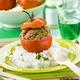 Petites tomates farcies à l'agneau