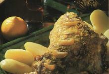 Gigot d'Agneau St George au citron et yaourt