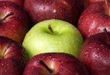 Salade de pomme de terre et magret séché aux pommes granny