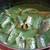 anguilles au vert