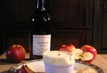 Soufflé au Calvados