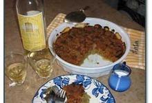 Crumble aux noix d'Arton et aux dattes de Rabat