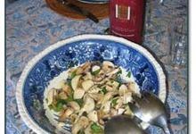 Champignons en salade