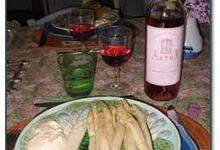 Asperges - Sauce mousseline d'André de Vilmorin