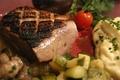 Pave De Canard Grille, Sauce Normande