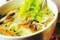 Soupe D'huitres Aux Petits Legumes