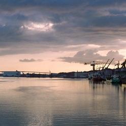 le port de Nantes
