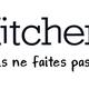Kitchendiet