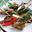 Brochettes  façon  saltimbocca de veau