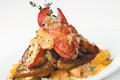Homard et foie gras à l'orange