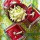 Amancaya  & Gaspacho de Cerises au poivron