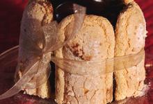 Saga Bordeaux Rouge  et sa charlotte choco-griottes