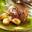 Blason d'Aussières  & Roulé d'agneau à la menthe