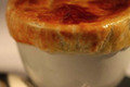 CHATEAU D'AUSSIERES  Et cassolette de pigeon au foie gras