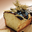Cake au citron nappage chocolat grenadine