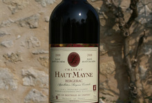 Bergerac Rouge 2008 élevé en fût de chêne