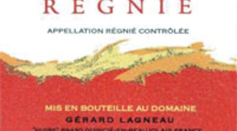 Régnié vieillit en fut de chêne, domaine Lagneau