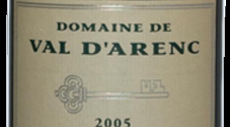 Bandol rouge, domaine de Val d'Arenc