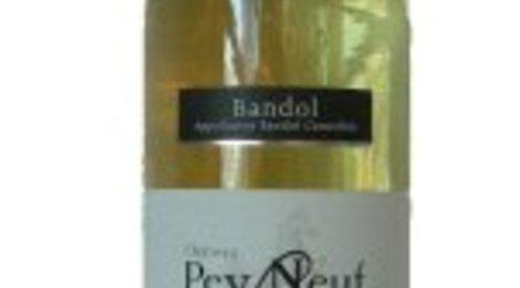 Bandol blanc, château Pey-Neuf