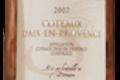 Coteaux d'Aix en Provence rosé, domaine de Suriane