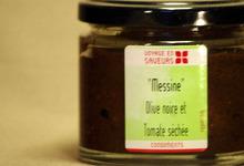 Tartinade Olive Noire, Tomate Séchée Bio