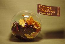 Chips légumes sans huile