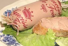 saucisse de foie de veau