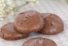 Macarons noisette chocolat