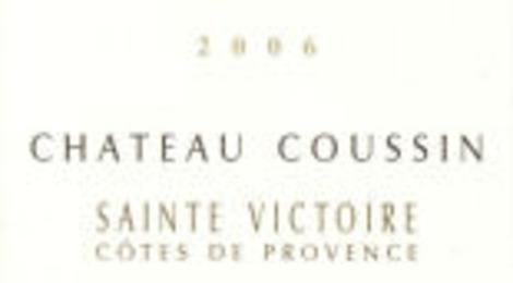 ChÂteau Coussin Sainte Victoire