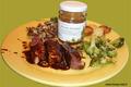 Magret de canard et sa sauce au miel des Pyrénées