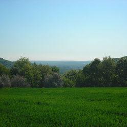 Plateau lorrain et dépression du Warndt à Guerting