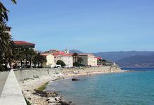 la baie d'Ajaccio