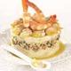 Ratte du Touquet aux crevettes et éclats de noix
