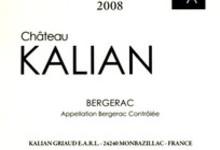Château KALIAN - BERGERAC ROUGE