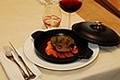 Noix de Joues de Boeuf cuites 12 Heures au Pinot Noir, carottes confites à la Cardamome