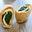 Petits pains farcis poulet-épinard et sel fin au piment d'Espelette Cérébos