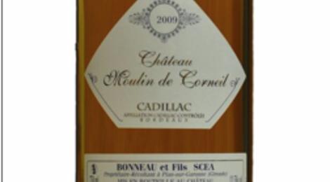 Cadillac château moulin de Corneil