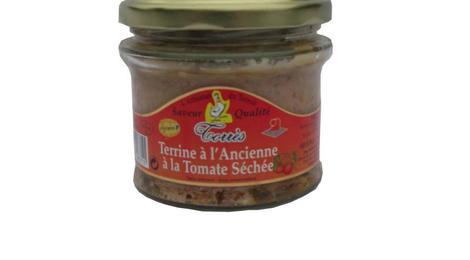 Terrine à l'ancienne à la Tomate séchée  (bocal 180g)